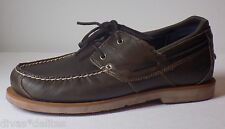 Timberland EK AE 2 Eye Boat Shoes   Brown Size..US-12  Style: 6468A