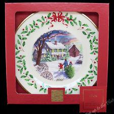Lenox China 2000 Bringing Home 10th Annual Holiday Christmas Plate Mib w/ Coa