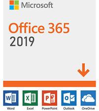 Office 2019 Pro Plus 365 Lifetime License - Windows, Mac, Mobile | 5TB Storage