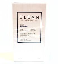 CLEAN RESERVE Acqua Neroli PARFUM EDP 3.4 Oz NEW IN BOX wSEAL FREE SAME DAY SHIP