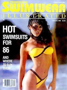 Swimwear Illustrated 1986 Magazine #1 Premiere NM/M Sports Illustrated Swimsuit