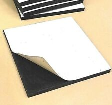 Neoprene Rubber Sheet Solid  w/ PS Adhesive 1/4