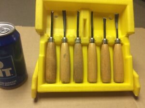 Millers Falls 6 Pc Wood Carving Tool Set #106C
