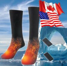 Heated Socks Electric Battery Powered Winter Warmer Outdoor FREE FAST SHIPPING