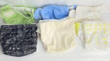 Tissu Diaper Lot Bum Genius::6 Pre-Owned::14 Inserts::2 New Inserts