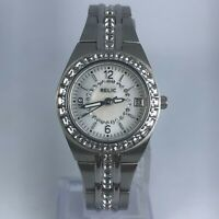 Relic Womens ZR11788 Queens Court Silver Tone Stainless Steel Band Watch
