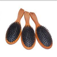 Boar Reinforced Bristle Hard & Soft Beard Brush Comb Hair Grooming Comb Shan