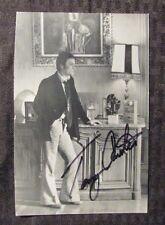 TONY CURTIS Signed 4.5x6.5 Black & White Photo FN 6.0