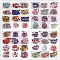 "48 colors 5Yards 25mm  1"" Grosgrain DIY Cartoon Printed Pattern Ribbon Crafts"