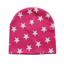 Loverly Toddler Baby Kids Infant Winter Warm Crochet Knit Hat Beanie Star Caps