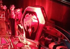 MONSTER BASH Pinball RED Interactive FLASHING COFFIN LIGHT Mod MB