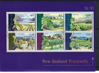 NEW ZEALAND 1971 Vineyards Marlborough SEE SCAN. CTO. POSTED FREE TO THE UK.