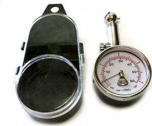 Luftdruckmesser 0-4,bar, 0,01 Skala, Reifendruckprüfer, raceparts cc