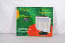 """Compucessory Tempered Glass Privacy Computer Filter - 15"""" Monitiors, CCS20506"""