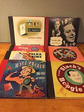 7 x Album Box Set 26 Records Eddy Nelson Cugat Rhumbas Polka Freddie Slack MORE