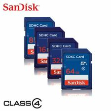 Camera Memory Card 8GB 16GB 32GB 64GB Sandisk SD Class 4 Flash SDHC Nikon Canon