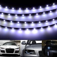 """White 12"""" 15 LED Flexible Strip Underbody Light Waterproof Fr Car Truck Boat 12V"""