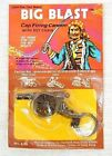 1970's Pirate Big Blast Cannon Key Chain Solid Metal Die-Cast by Manral