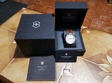 Automatic mens watch Victorinox Airboss Mechanical as new, serviced and polished