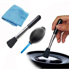 4 in 1 Cleaning Kit for Camera Lens Computer Laptop Binoculars Clean Cloth Brush