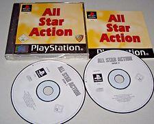 All Star Action PS1 Spiel - Playstation 1 gepflegt