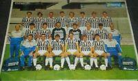 POSTER JUVENTUS 1986 - CM 80X56 - HURRA JUVENTUS