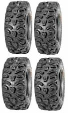 Full set of Kenda Bear Claw HTR Radial (8ply) 25x8-12 and 25x10-12 ATV Tires new