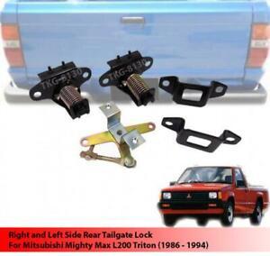 Rear Tailgate Lock Latch Assy For Mitsubishi Mighty Max / L200 Triton 1986-1994