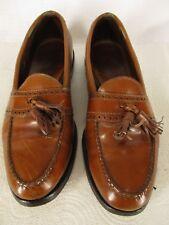 Allen Edmonds Harvard Mens Brown Tassel Loafers 9.5B USA Made