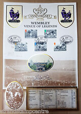1998 FA Cup Final 75th Anniv - Wembley Venue of Legends - Signed DIDIER SIX