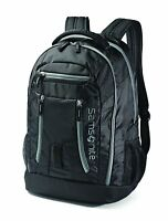 "New Samsonite Shera Unisex 15.6"" Laptop Multi Compartment Backpack - Black"