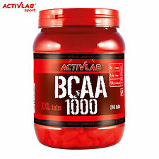 BCAA 1000 240Tablets Amino Acids Muscle Growth Anabolic Anticatabolic Supplement