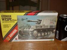 WW#2, GERMAN WESPE 105 mm SELF-PROPELLED HOWITZER, Plastic Model Kit, SCALE 1/72