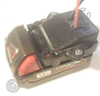 Milwaukee M18 Li-ion Batteries Convert to DIY Connection Output Adapter Robot