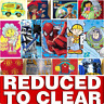 REDUCED TO CLEAR Childrens Kids Character Football Soft Fleece Bed Blanket Throw