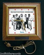 THE ISLEY BROTHERS-Mega Rare Music Award Clock Presented To Marvin Isley-Funk