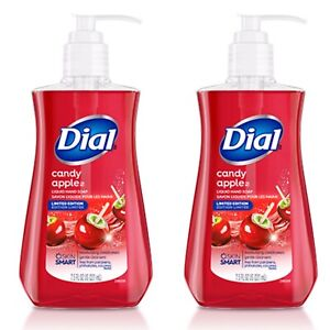 2 Dial CANDY APPLE Seasonal Collection Limited Edition Liquid Hand Soap 7.5 oz
