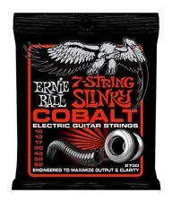 Ernie Ball 7 String Skinny Top Slinky Cobalt Cordes pour guitare électrique 10-62
