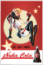 Fallout 4 Poster Nuka Cola Zap that Thirst! !!