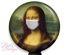 Masked Mona Lisa Badge Reel