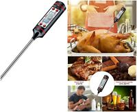 Cooking Thermometer Meat Food Grill BBQ Milk Water Temperature Electric And Fast