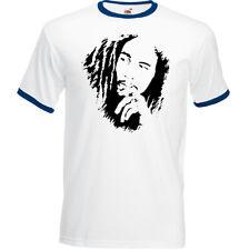 Bob Marley T-Shirt, Mens Reggae Music Drug Weed Spliff Marijuana Jamaica Top