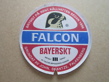 Falcon Bayerskt (Style 2) Small Plastic Round T Bar Pump Badge