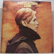 "DAVID BOWIE : LOW Vinyl LP Album 33rpm 12"" Insert Sticker Track 1st Excellent"