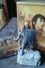 "LOTR by Les Etains du Graal of Paris Fine Sculpture ""Uruk-Hai"" Boxed Mint"