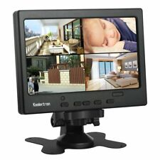 CCTV LCD Monitor HDMI/VGA/AV Support 1080P Office Surveillance Secure System