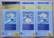 LOT DE 3 cartes  AERONAUTIQUES  - SIA  - FRANCE NORD  ET SUD