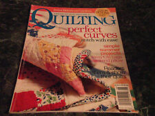 American Patchwork & Quilting Magazine August 2005 Issue 75 Summer Morning