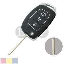 Flip Key Shell fit for HYUNDAI ix45 Santa Fe Remote Key Case Fob 3 Button PG180C