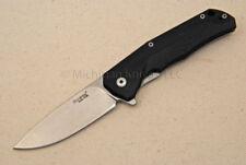 Lionsteel Titanium Knife - T.R.E. GBK w/ Black G10 and Titanium
